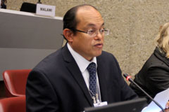 Executive Secretary addresses SAICM Open-Ended Working Group