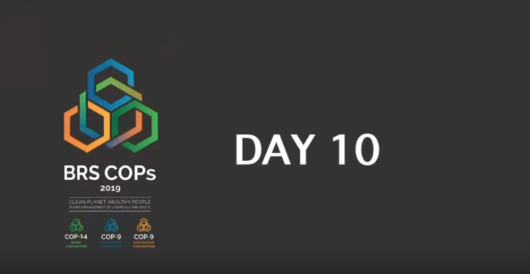 Basel, Rotterdam and Stockholm Conventions 2019 COPs - Day 10