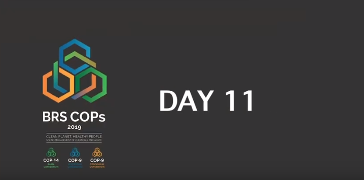 Basel, Rotterdam and Stockholm Conventions 2019 COPs - Day 11