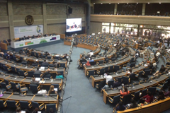 Interactive panel discussion at UNEA3 – recording online