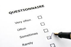 Review Arrangements Questionnaire